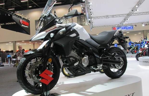 Suzuki V Strom 650 (Foto: Roberto Dutra (O Globo))