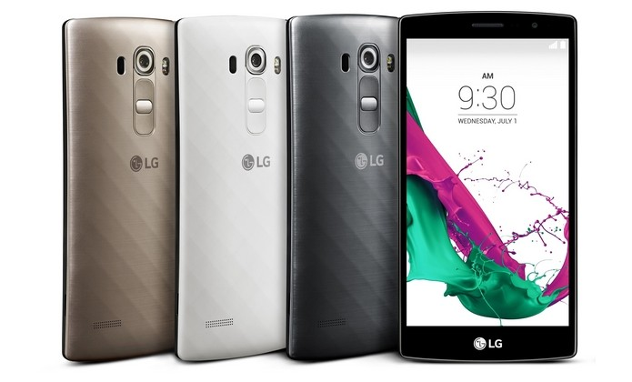 LG G4 Beat tem traseira curva e texturizada (Foto: Divulgação/LG)