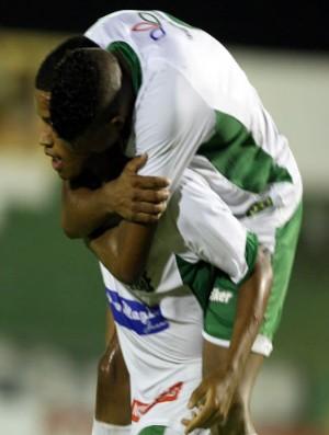 Romarinho comemora gol pelo Icasa contra o Ceará pelo Campeonato Cearense no Romeirão (Foto: Normando Sóracles/Agência Miséria de Comunicação)