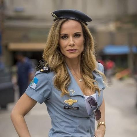 Ana Furtado em Chapa Quente (Foto: João Cotta/ TV Globo)