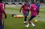 Messi treina após cirurgia e pode enfrentar o Celta no domingo (Divulgação)