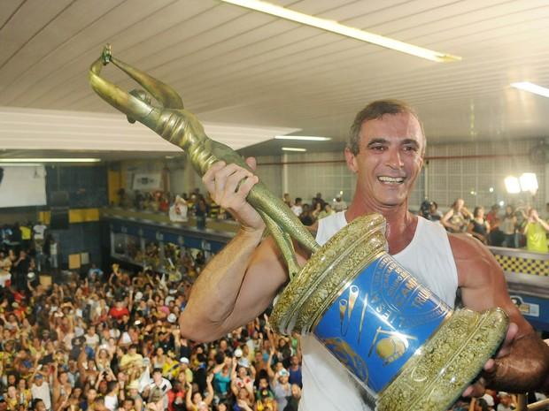 Paulo Barros, carnavalesco da Unidos da Tijuca (Foto: Alexandre Durão/G1)