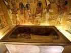 Análise com radar reforça hipótese de área secreta na tumba de Tutancâmon