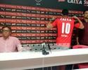 Apresentado com a camisa 10, Dátolo diz que tentará dar a vida pelo Vitória