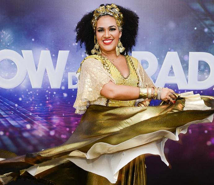 Mariene de Castro estará em 'Velho Chico'. Na foto, ela se apresentava como cantora no 'Show da Virada' em 2013 (Foto: Bob Paulino/ Globo)