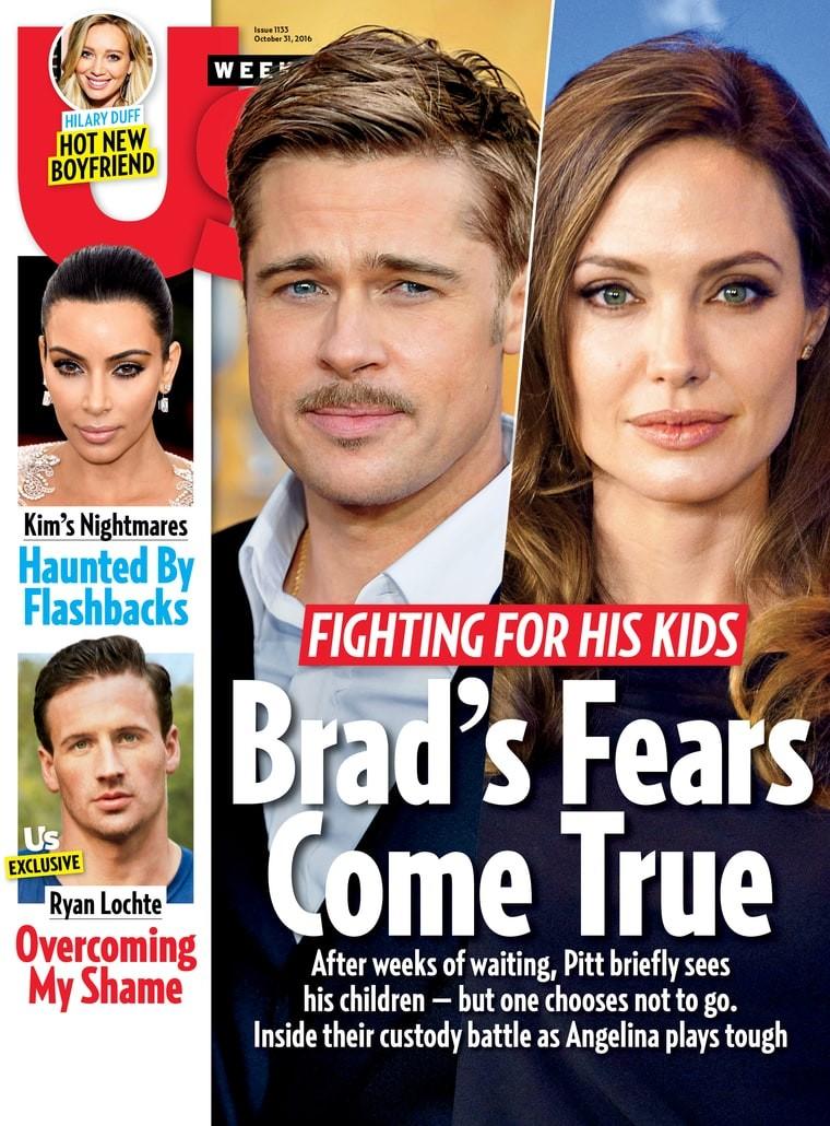 Capa da nova edição da US Magazine (Foto: Reprodução)