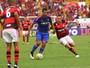 """Após derrota do Sport, Diego Souza reclama de arbitragem: """"Algo mais"""""""