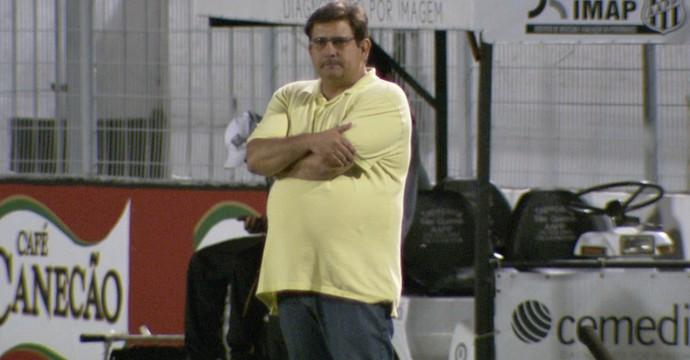 Guto Ferreira, técnico Ponte Preta (Foto: Carlos Velardi/ EPTV)