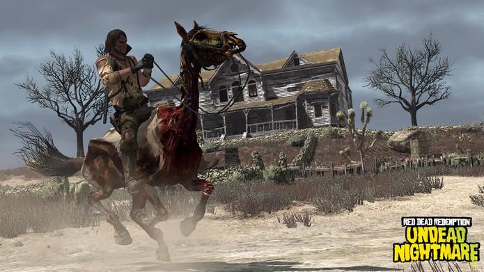 Undead Nightmare é um dos melhores DLCs já feitos (Foto: Divulgação/Rockstar)