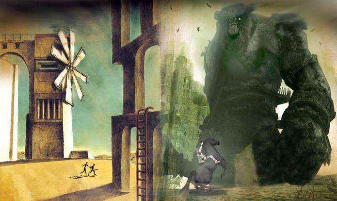 Jogos do Team ICO: ICO e Shadow of the Colossus (Foto: Divulgação/Sony)
