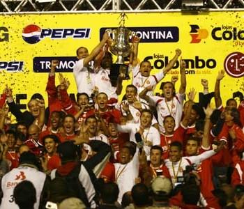 Inter, Juventude, campeão, Gauchão 2008, título (Foto: Divulgação / Internacional)