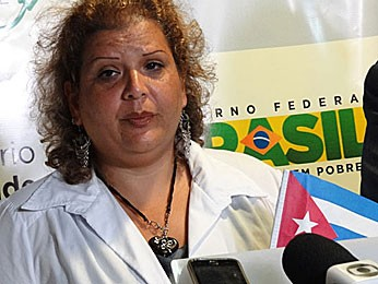 Natacha Romero Sanchez, médica cubana (Foto: Luna Markman / G1)