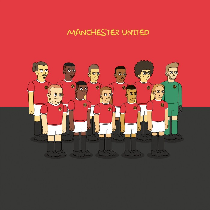 Manchester United Simpsons