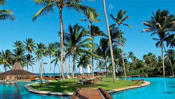 Resort Kiaora, onde Fernando Pimentel e sua esposa Carolina tiraram férias, pagas pelo empresário Bené (Foto: Reprodução)