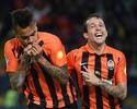 Shakhtar empata com gol de Dentinho e mantém liderança no Ucraniano