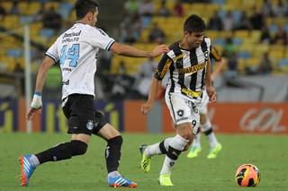Henrique Botafogo x Grêmio (Foto: Satiro Sodré)