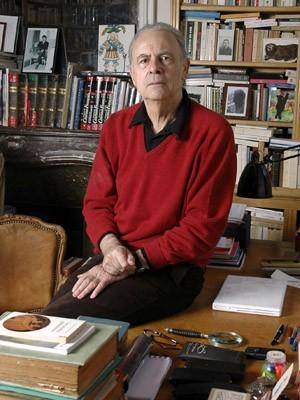 O escritor francês Patrick Modiano (Foto: AP Foto/Gallimard)