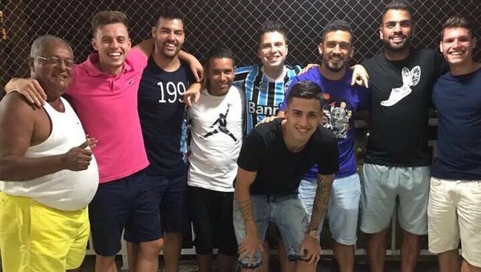 Grêmio Maicon Beto da silva Edilson (Foto: Arquivo pessoal)