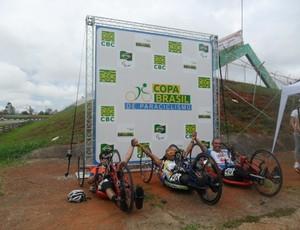 Eduardo Ramos Pimenta bronze na 3ª Etapa da Copa Brasil de Paraciclismo (Foto: Arquivo/CDDU)
