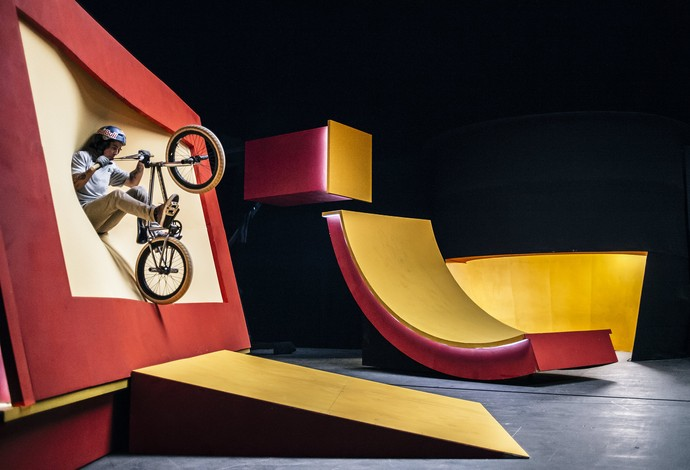 Kriss Kyle ciclismo bmx pista Kaleidoscope  (Foto: Fred Murray/Red Bull Content Pool)