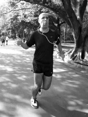 Fábio Bechara eu atleta sincronizado (Foto: Arquivo Pessoal)