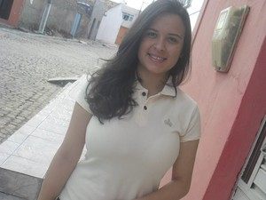 Mayara Ramos, pré-universitária, negrense, 17 anos (Foto: Mayara Ramos/ Arquivo Pessoal)