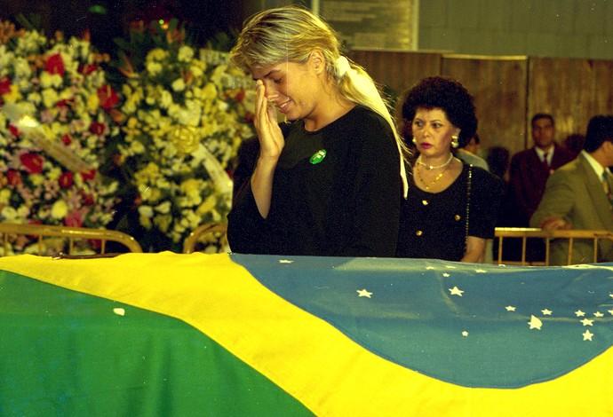 Xuxa Senna Funeral