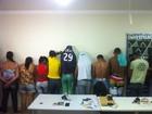 Nove pessoas são presas por tráfico de drogas em Governador Valadares