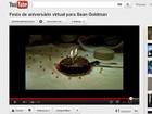 Avó brasileira faz festa de aniversário para Sean e posta vídeo na web