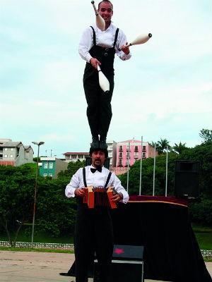 Espetáculo circense será apresentado neste sábado em Bauru (Foto: Sesc/Divulgação)