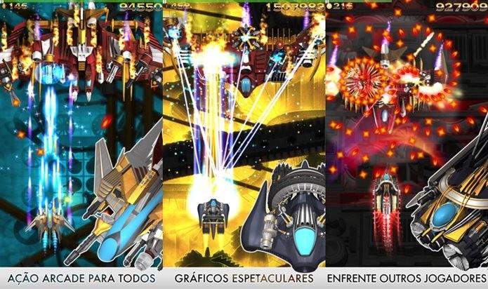 Phoenix HD é um jogo de nave com controles muito bem pensados (Foto: Divulgação / Firi games)