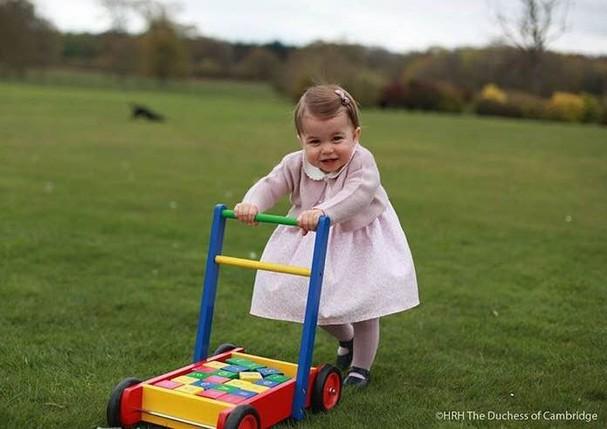 Princesa Charlotte (Foto: Kensington Royal / Divulgação)