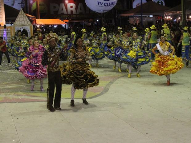 Grupo Rei do Cangaço pretende manter título de campeã da Cidade Junina (Foto: Wenner Tito)
