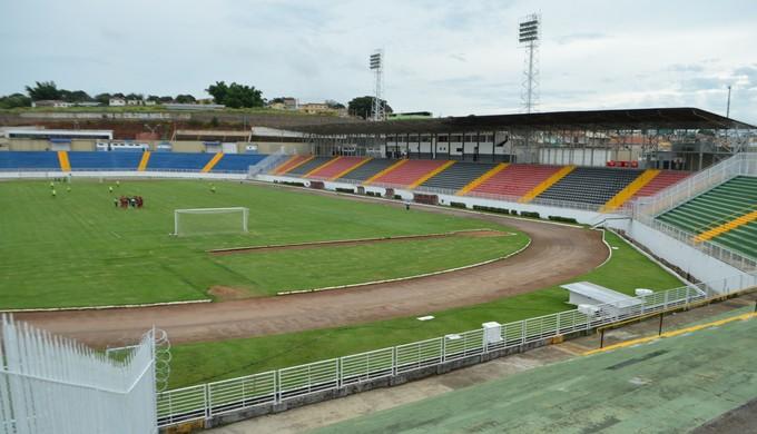Estádio Municipal de Varginha, Melão, Estádio Melão (Foto: Lucas Soares)