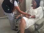 Roseana Sarney permanece em recuperação e sem previsão de alta