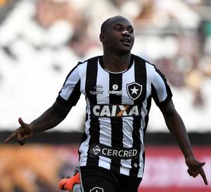 Sassá - Botafogo x Fluminense (Foto: Alexandre Durão)