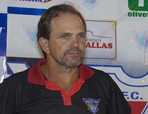 PC Schardong, técnico do Ariquemes (Foto: Jeferson Guedes)