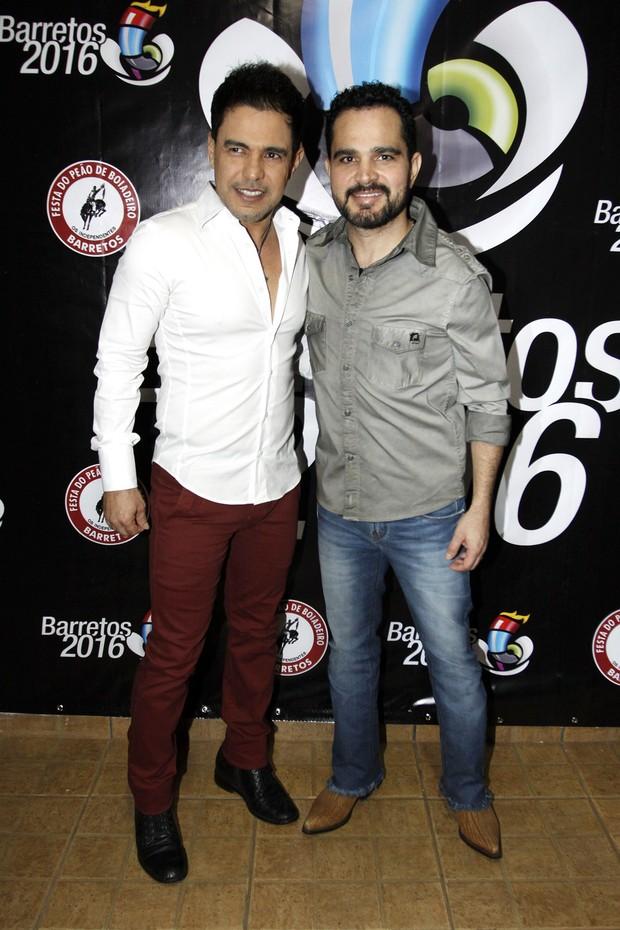 Zezé Di Camargo e Luciano (Foto: Celso Tavares/EGO)