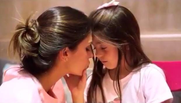 Carol Celico e a filha Isabella (Foto: Reprodução/ Instagram)