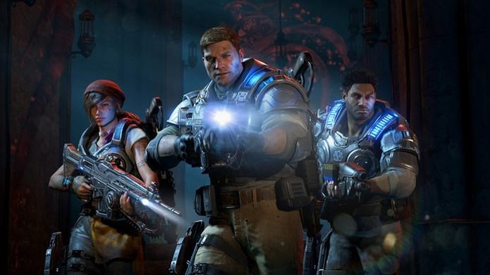 Gears of War 4 tem boas novidades no multiplayer (Foto: Divulgação/Microsoft)