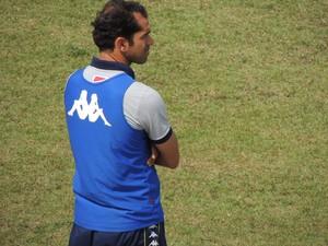 Max Sandro técnico Audax-SP copinha (Foto: Rodrigo Mariano)
