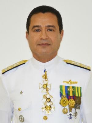 Vice-Almirante Almir Garnier Santos novo comandante do 2° Distrito Naval (Foto: Divulgação/Marinha do Brasil)
