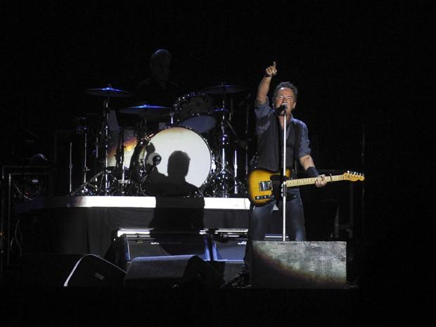 Bruce Springsteen se apresenta no Rock in Rio Lisboa (Foto: Patricia de Melo Moreira/AFP)
