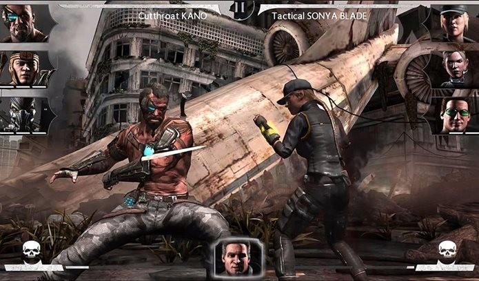 Mortal Kombat X traz o sangue do game dos consoles para o seu iDevice (Foto: Divulgação / Warner)