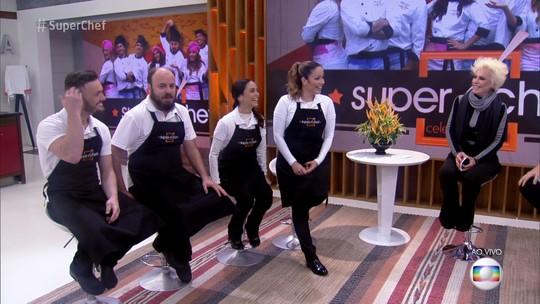 Paulinho Serra volta à disputa do 'Super Chef' depois de vencer a Prova de Repescagem