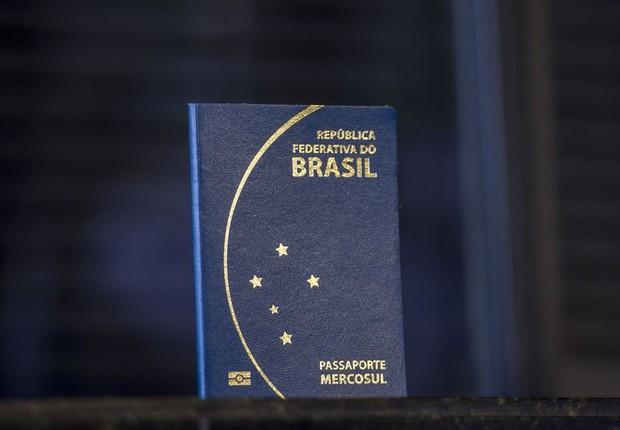 Passaporte - Brasil - brasileiro passaporte brasileiro (Foto: Marcelo Camargo/Agência Brasil)
