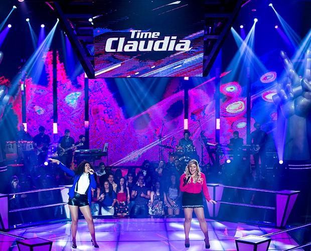 """Kall Medrado e Bruna Tatto sobem ao palco e cantam """"Aonde Você Quiser"""", sucesso de Patricia Marx  (Foto: Isabella Pinheiro/Gshow)"""