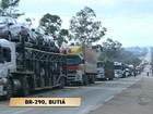 Protestos fecham rodovias em municípios do RS nesta sexta-feira