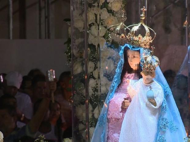 Imagem peregrina de Nossa Senhora da Penha (Foto: Divulgação)