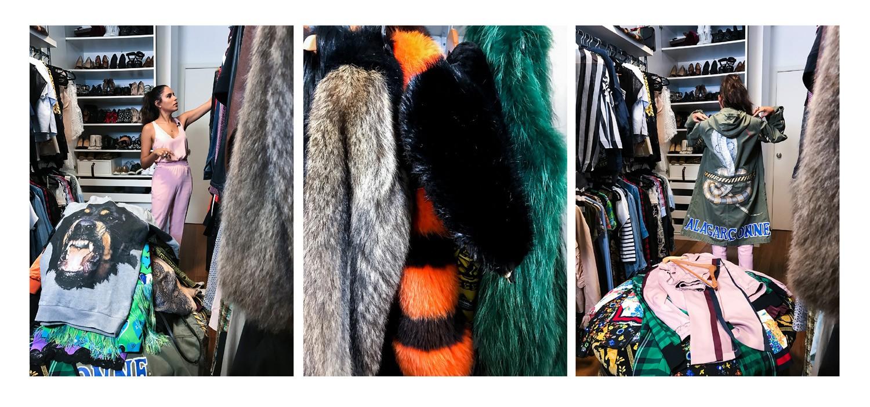 Marina Morena mostra seu guarda-roupa com peças de colecionador (Foto: Camila Guerreiro)